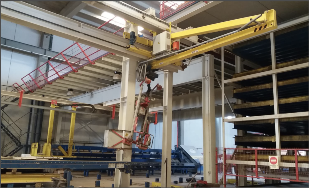 Pallet circulation systems (Carousel lines, Rotating systems)
