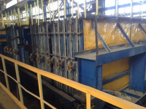 Used battery mould Tecnocom (Progress Group)